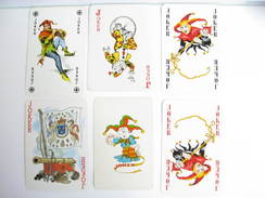 UN LOT N° 40 DE 6 JOKERS TOUS DIFFERENTS - Kartenspiele (traditionell)