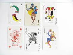 UN LOT N° 42 DE 6 JOKERS TOUS DIFFERENTS - Cartes à Jouer Classiques