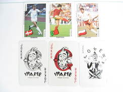 UN LOT N° 46 DE 6 JOKERS TOUS DIFFERENTS - Kartenspiele (traditionell)