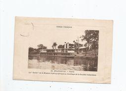 BRAZZAVILLE 23 PLAINE CONGO FRANCAIS LE DOLISI DE LA MISSION HYDROGRAPHIQUE AU MOUILLAGE DE LA STE HOLLANDAISE 1912 - Brazzaville