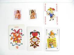 UN LOT N° 47 DE 6 JOKERS TOUS DIFFERENTS - Kartenspiele (traditionell)