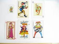 UN LOT N° 48 DE 6 JOKERS TOUS DIFFERENTS - Kartenspiele (traditionell)