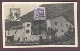 Soldeu Hostel Bonell - Ostet  Hôtel Carte Postale Voyagée Timbrée En 1929 ANDORRE -  SOLDEU - - Andorre