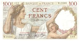 (G 14)  Billets       France100 Francs 1941 - 1871-1952 Anciens Francs Circulés Au XXème