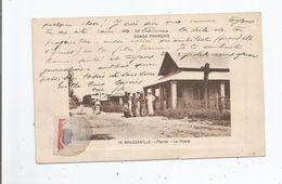 BRAZZAVILLE 16 CONGO FRANCAIS PLAINE LA POSTE (PETITE ANIMATION) - Brazzaville