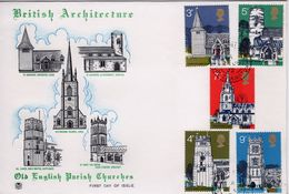 GB First Day Cover To Celebrate British Architecture 1972. - 1971-1980 Decimal Issues