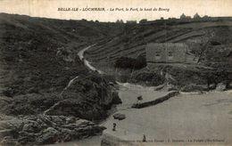 BELLE ILE LOCMARIA LE PORT LE FORT LE HAUT DU BOURG - Belle Ile En Mer