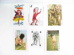 UN LOT N° 55 DE 6 JOKERS TOUS DIFFERENTS - Kartenspiele (traditionell)