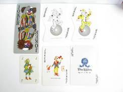 UN LOT N° 57 DE 6 JOKERS TOUS DIFFERENTS - Kartenspiele (traditionell)