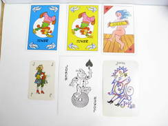 UN LOT N° 58 DE 6 JOKERS TOUS DIFFERENTS - Playing Cards (classic)