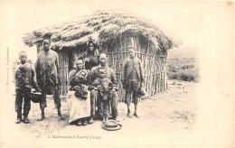 ZAMBIE - Ethnic H / A Mashonaland Family Group - Zambie