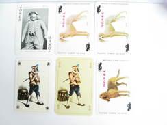 UN LOT N° 62 DE 6 JOKERS TOUS DIFFERENTS - Kartenspiele (traditionell)