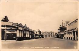 ZAMBIE - Topo / 1st Street And Standard Bank - Salisbury - Zambie