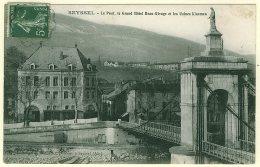 1 - B12370CPA - SEYSSEL - Pont, Grand Hotel Beau-rivage Et Usines Kinsmen - Très Bon état - AIN - Seyssel