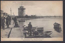 """GRECE - CPA 26 """"Salonique - La Tour Blanche"""" B/TB - - Griekenland"""