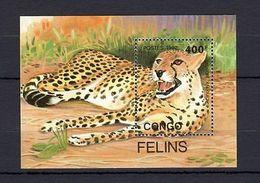 Congo 1992 Wild Cats MNH -(V-22) - Timbres