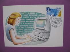 Carte-Maximum      N° 2639   Journée Du Timbre  1990 - Maximum Cards
