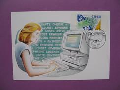 Carte-Maximum      N° 2640   Journée Du Timbre  1990 - Maximum Cards