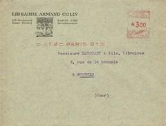 France - Paris 91 - 1946 - Ema - Marcophilie (Lettres)