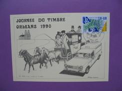 Carte-Maximum      N° 2640   Journée Du Timbre  1990 - Maximumkarten