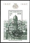DDR - Michel Block 84 = 3027 - OO Gestempelt (B) - 1M  750 Jahre Berlin I - [6] Oost-Duitsland