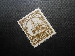 D.R.Mi 20 - 3Pf*MLH  - Deutsche Kolonien ( TOGO ) 1918  Mi € 1,00 - Colony: Togo