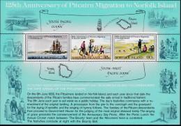 Norfolk Island 1981 Pitcairn Migration Sc 279a Mint Never Hinged - Norfolk Island