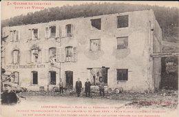 Saint Dié - Guerre De 14/15- Café De La Promenade St Martin Incendié ( Nombreuses  Victimes ) - Saint Die