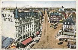 Ref V194- Luxembourg Ville - Place De La Gare   -carte Bon Etat  - - Luxemburg - Town