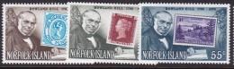 Norfolk Island 1979 Rowland Hill Sc 246-48 Mint Never Hinged - Norfolk Island