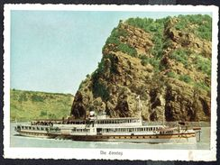 "Bateau De Tourisme "" DRACHENFELS "" - Rhin - DE - Circulé - Circulated - Gelaufen - 1952. - Bateaux"