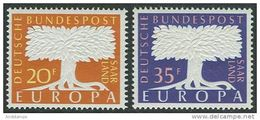 Saar 1957. Michel #402/03 MNH(**)/Luxe. Europa-CEPT - Europa-CEPT