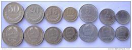 MONGOLIA SERIE 7 MONETE 1987 50-20-15-10-5-2-1 MONGO - Mongolia