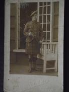 PILOTE - Julien SERVAIS, AVIATEUR CANADIEN (?) En KILT - Escadrille CAP 130 - Carte-photo - Vers 1914 - A Voir ! - Guerre 1914-18