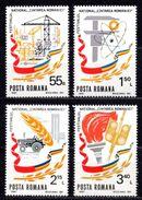 1981 ROMANIA NATIONAL FESTIVAL MICHEL: 3803-3806 MNH ** - 1948-.... Republics