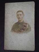 SOLDAT CANADIEN (?) - Freddie Maref (?) - Carte-photo - 3 Mars 1919 - A Voir ! - Uniformes