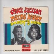 DISQUE VINYL / CHUCK JACKSON & MAXINE BROWN - DADDY'S HOME - Rock
