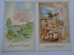 Réf: XXX.         JOYEUSES PAQUES      ( 5 Cartes Postales Non écrites ) - Easter
