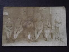 SOLDATS CANADIENS (?) - Militaire - Carte-photo - Vers 1914 - A Voir ! - Guerre 1914-18