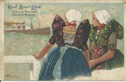 Red Star Line Antwerp-New York   Antwerp-Boston 1909 - Paquebots