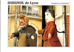 SPECTACLE THÉÂTRE MARIONNETTES GUIGNOL DE LYON  GUIGNOL ET GNAFRON   ED. GUYOT 2725 - Theater