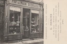 BEAUNE - Fabrique De Pains D'épices - G. MERCIER , 23 Rue Carnot - Beaune