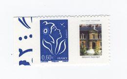 Lamouche 0.60 € Bleu Personnalisé Autoadhésif Petit Logo YT 3966Aa . Rare , Voir Scan . Maury N° 59 : 13 € - Personalized Stamps