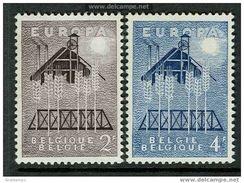 Belgium 1957. Michel #1070/71 MNH(**)/Luxe. Europa CEPT - Europa-CEPT