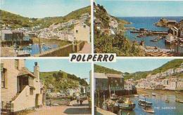 Angleterre        565        Polperro. 4 Views ( Harbor ) - England
