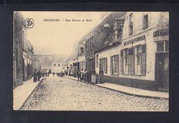 Carte Postale Messines Mesen  Rue Courte Et Belle 1916 - Mesen