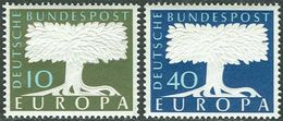 Germany 1957. Michel #268/69 MNH(**)/Luxe. Europa CEPT - Europa-CEPT