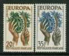 France 1957. Michel #1157/58 MNH(**)/Luxe. Europa CEPT - Europa-CEPT