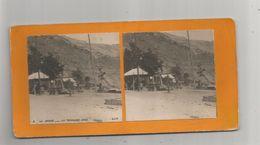 LA GRAVE (HAUTES ALPES) PHOTO STEREOSCOPIQUE ANCIENNE LA TERRASSE JUGE 8 - Stereoscopic