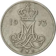 Danemark, Margrethe II, 10 Öre, 1973, Copenhagen, TTB+, Copper-nickel, KM:860.1 - Denmark